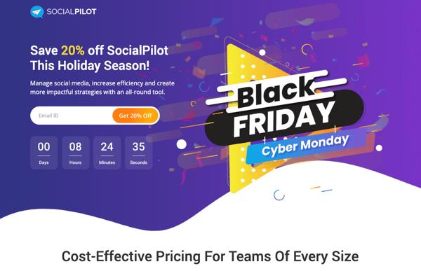 social pilot ad