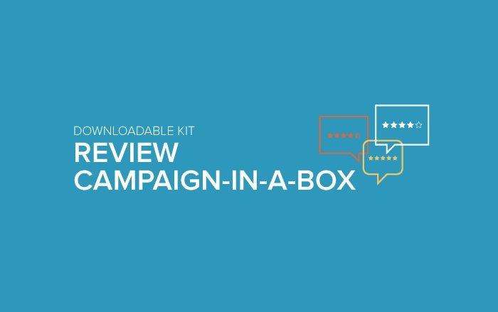 Downloadable Kit: Review Campaign in a Box