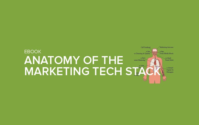 EBook: Anatomy of the Marketing Tech Stack