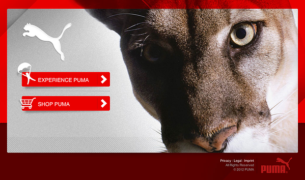puma splash screen